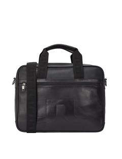 Mens S-BAG 50088 Cow Leather Black