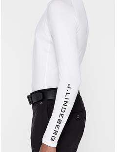 Mens Aello Soft Compression Layer White