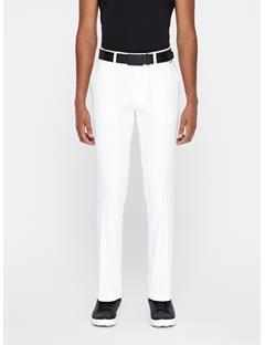 Mens Ellott Slim Micro Stretch Pants White