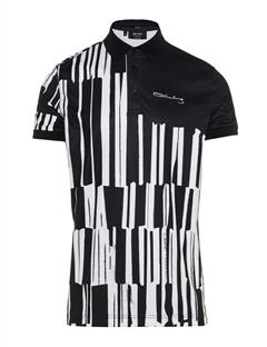 Mens LIMITED EDITION Art Polo #1 Black