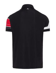 Mens LIMITED EDITION Art Polo #2 Black
