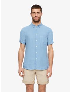 Daniel Clean Linen Short Sleeve Shirt Allure