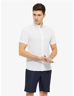 Daniel Mini Grid Shirt White