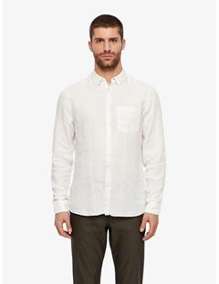 Daniel Clean Linen Shirt Whisper White