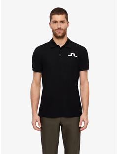Big Bridge Clean Pique Polo Black
