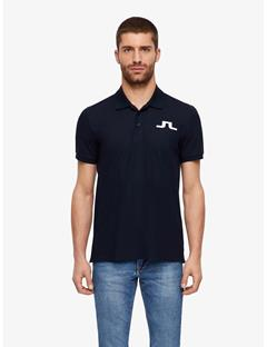 Big Bridge Clean Pique Polo JL Navy