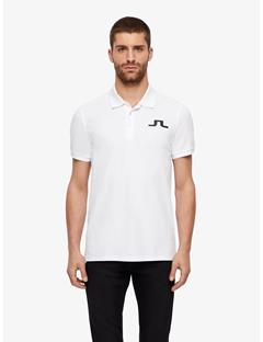 Big Bridge Clean Pique Polo White