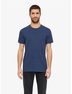 Silo Two Tone Snow Slub T-shirt JL Navy