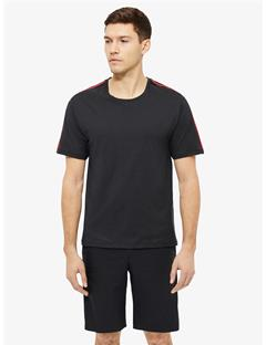 Atlas Fine Cotton Loose T-shirt Black