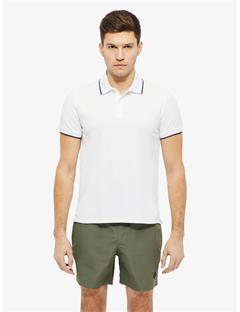 Roy Clean Pique Polo White