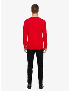 Throw Ring Loop Sweatshirt Racing Red