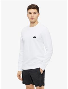 Throw Ring Loop Sweatshirt White