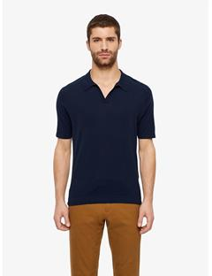 Greg Refined Cotton Polo JL Navy