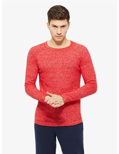 Roller 2 Tone Linen Sweater Racing Red