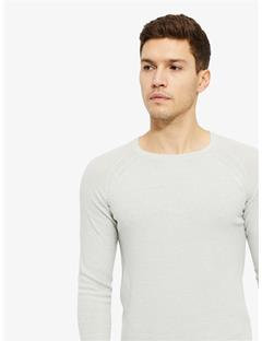 Roller 2 Tone Linen Sweater Stone Grey