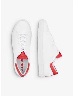 Colorblock Sneakers Racing Red