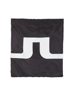 Printed Drawstring Bag Black