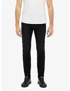 Mens Damien Faded Black Jeans Dk Grey