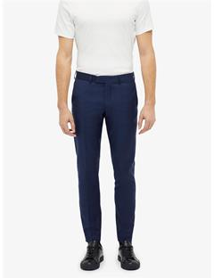 Grant Chin Mohair Pants Mid Blue