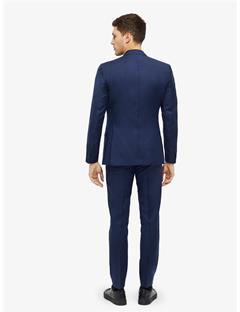 Donnie Chin Mohair Blazer Mid Blue