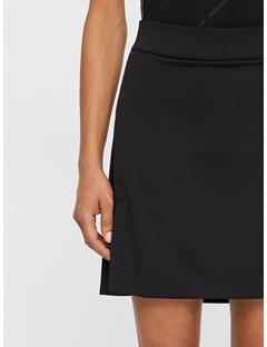 Womens Amelie Long TX Jersey Skirt Black