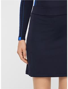 Womens Amelie Long TX Jersey Skirt JL Navy