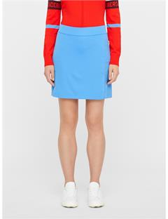 Womens Amelie Long TX Jersey Skirt Silent blue
