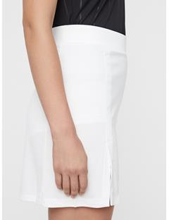 Womens Amelie Long TX Jersey Skirt White