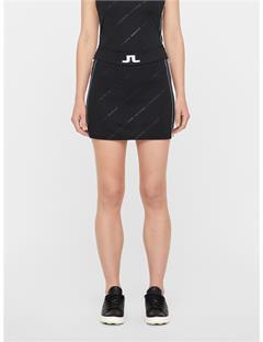 Womens Sayen TX Jersey Skirt Black Print