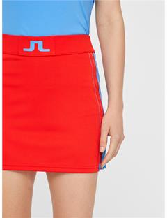 Womens Sayen TX Jersey Skirt Racing Red