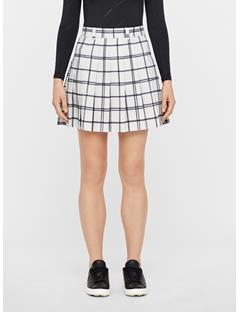 Womens Adina Micro Stretch Skirt Window Pane