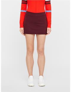 Womens Amelie TX Jersey Skirt Dark Mahogany