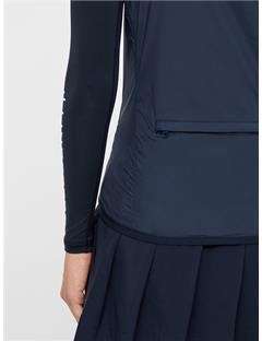 Womens Lilly Trusty Vest JL Navy