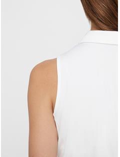 Womens Dena TX Jersey Polo White