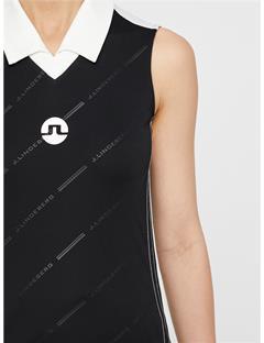 Sha TX Jersey Polo Black Print