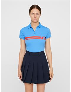 Womens Orla TX Jersey Polo Silent blue