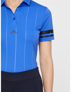 Womens Febe TX Jersey Polo Daz Blue