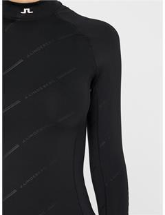 Womens Asa Soft Compression Layer Black Print