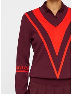 Womens Erine Sweater Dark Mahogany
