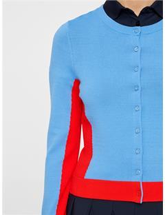 Womens Melody Cardigan Silent blue