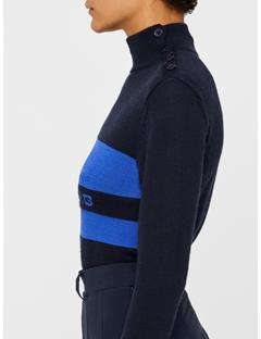 Gerd Coolmax Cashmere Sweater JL Navy