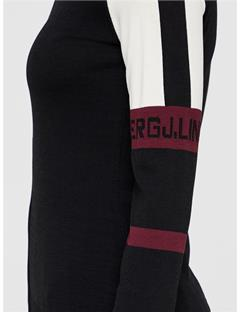 Sanne Knit Zip-Up Black