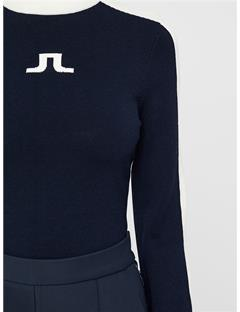 Adia Knit Top JL Navy