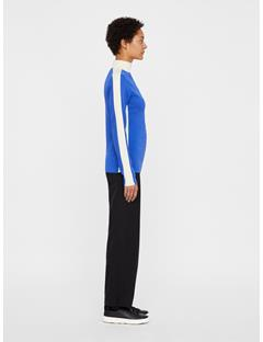Womens Adia Coolmax Cashmere Top Daz Blue