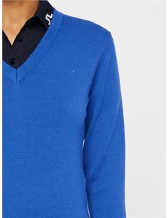 Agnes Coolmax Wool Sweater Daz Blue