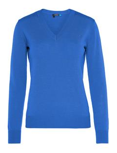 Womens Agnes Coolmax Wool Sweater Daz Blue