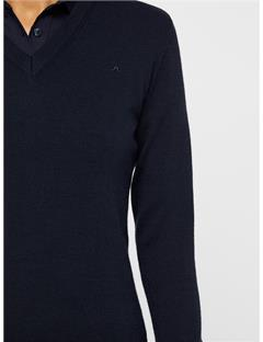 Agnes Coolmax Wool Sweater JL Navy