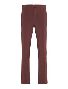 Mens Ellott Regular Stretch Pants Dark Mahogany