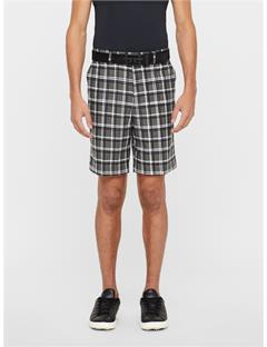 Mens Palmer Schoeller 3xDry Shorts Crossed Plaid