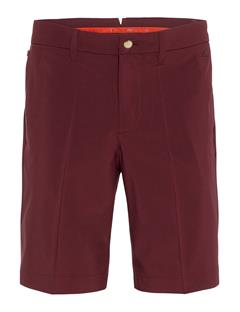 Mens Eloy Micro Stretch Shorts - Tapered Dark Mahogany